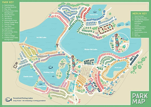 Tattershall Country Park Layout